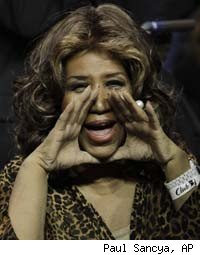 Aretha Franklin Denies Gastric Bypass Rumors