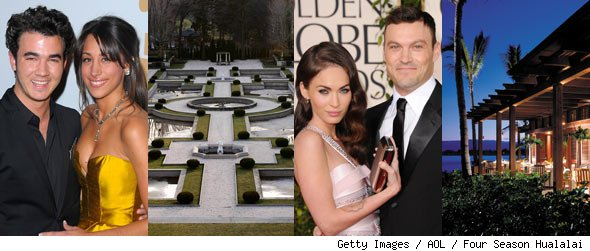 The Most Romantic Places on Earth: Where Celebs Tie the Knot