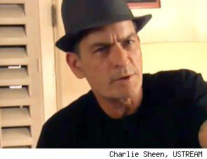 Photo: Charlie Sheen Show Off Winning New Tattoo
