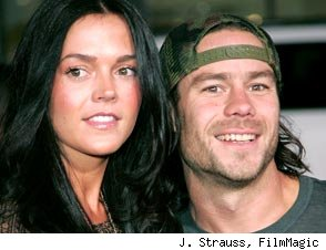 Chris Pontius and Claire Nolan