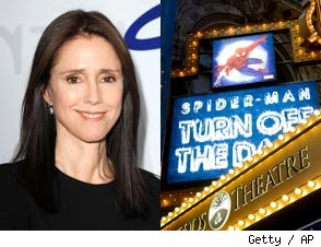 Julie Taymor Quits Broadway Spiderman