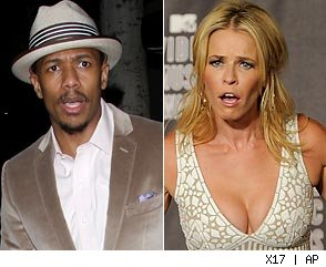 Nick Cannon and Chelsea Handler