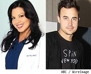 Sara Ramirez and Joe King