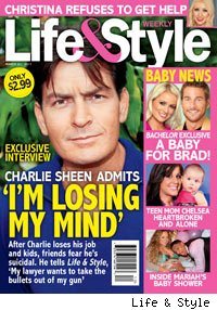 Charlie Sheen Tells Life & Style 'I'm Losing My Mind'