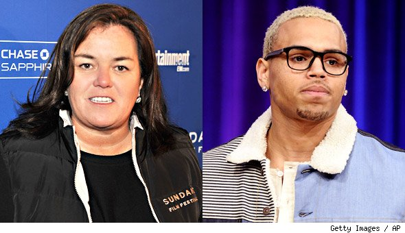 chris brown rosie o'donnell
