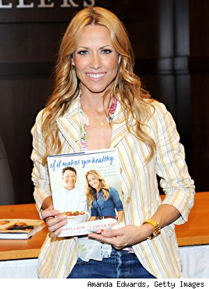 sheryl crow cookbook