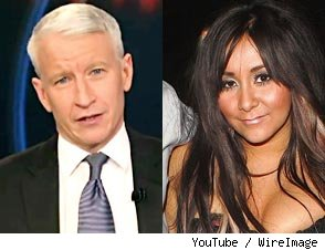 Video: Anderson Cooper Trashes 'Juicehead Hugging' Snooki