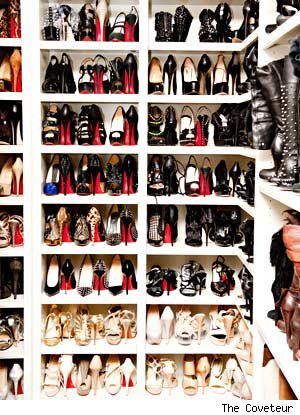 Check Out Khloe Kardashian's Shoe Closet, Jealous Much?