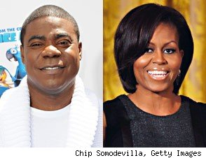 Tracy Morgan Wants to 'Climb' Michelle Obama