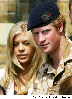 Prince Harry's Royal Wedding Plus One: Chelsy Davy