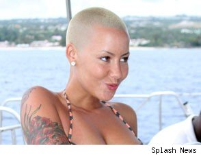 Amber Rose Shows off Her Bikini Bod