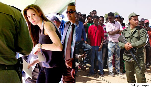 Angelina Jolie's Trip to Tunisia Incites Riot