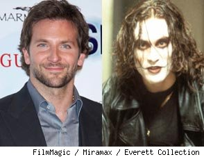 Bradley Cooper in Talks to Remake Brandon Lee Film 'The Crow'
