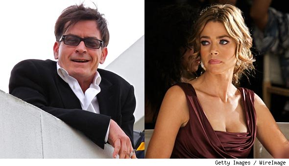denise richards charlie sheen tour