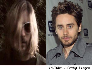 Video: Jared Leto's Kurt Cobain Tribute