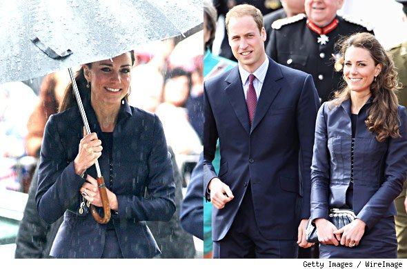 kate middleton hair pieces. a tiny fake Kate Middleton