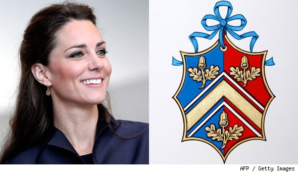 Kate Middleton and Her Family's Coat of Arms