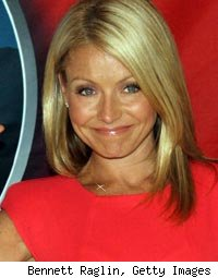 Kelly Ripa Wax Figure