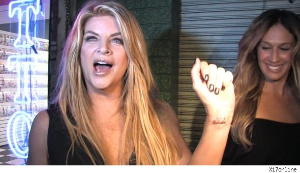 Kirstie Alley Tattoo
