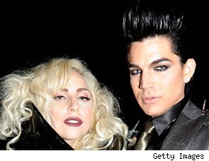 Lady Gaga and Adam Lambert