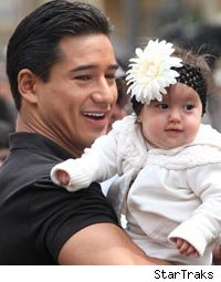 Mario Lopez Steps Out With Adorable Daughter, Gia