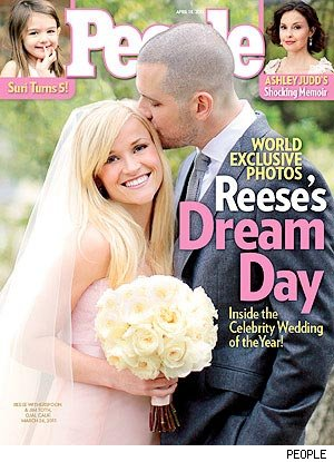 Reese Witherspoon: Pretty in Pink on Wedding Day