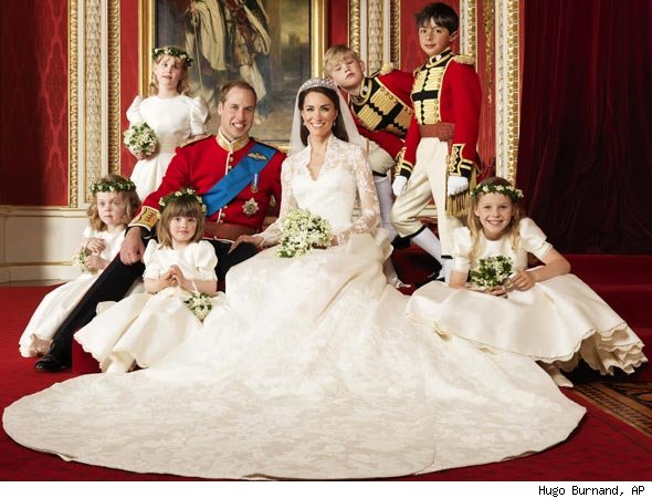 The Royal Wedding Family Photos!