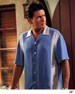 charlie sheen two and a half men talks