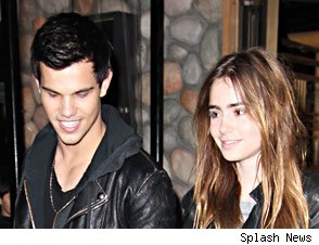 is lily collins dating taylor lautner 2012 Cambio finds the best stuff about lily-collins to share with your friends 2012 met gala taylor lautner, lily collins jump for their lives in new 'abduction.