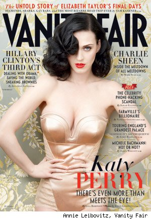Katy Perry Vanity Fair Cover
