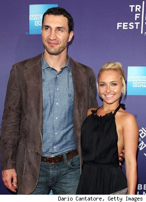 Hayden Panettiere and Wladimir Klitschko Split
