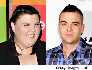 Ashley Fink, Mark Salling Kiss