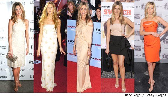 Jennifer Aniston Decade of Hotness