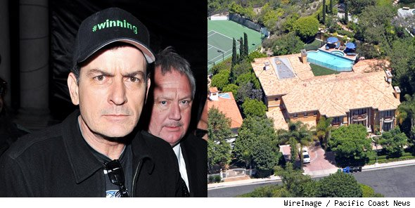Charlie Sheen house for sale