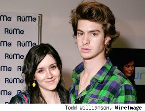 Andrew Garfield Shannon Woodward Split