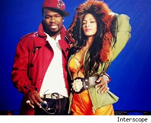50 Cent and Nicole Scherzinger
