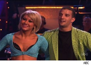 Chelsea Kane and Mark Ballas