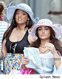 jersey shore girls italy