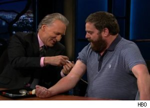 Zach Galifianakis Bill Maher Heroin Video