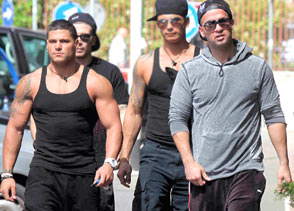 Ronnie Ortiz-Magro and Mike 'The Situation' Sorrentino