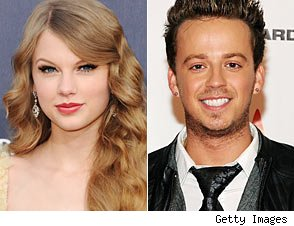 Stephen Barker Liles and Taylor Swift