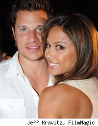 Nick Lachey Vanessa Minnillo wedding shower