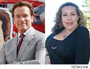 Arnold Schwarzenegger Mildred Baena graduation