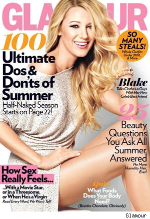 Blake Lively Glamour interview