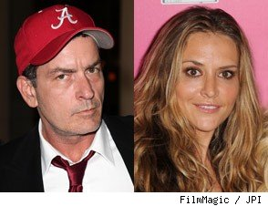 Charlie Sheen Brooke Mueller joint custody