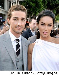 Shia LaBeouf Megan Fox Transformers