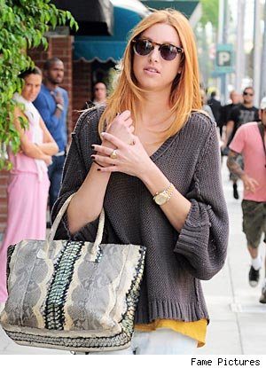 Whitney Port red hair