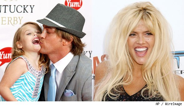 Anna Nicole Smith Larry Birkhead Dannielynn