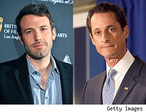 Anthony Weiner Ben Affleck