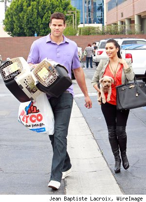 Kim Kardashian, Kris Humphries, new dog